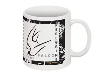Falco peregrinus - mug - limited edition