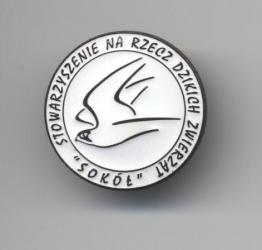 Society's pin (enamel)
