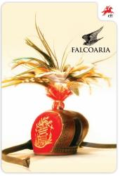 Falconry - Brochure with Set of 4 Stamps and Souvenir-Sheet